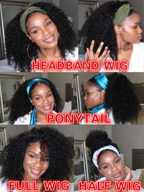 STYLE ME MILLION WAYS-NEW VERSATILE-CAP BRAZILIAN VIRGIN HUMAN HAIR WIG-GENNA