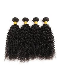 Indian remy kinky curly weave bundle-BW003