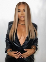 Hairstylist Collection-Holiday Slay Ash blond Tone T part human hair lace closure wig-CCW068
