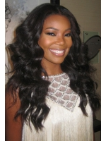 body wave full lace human hair wig - BW068