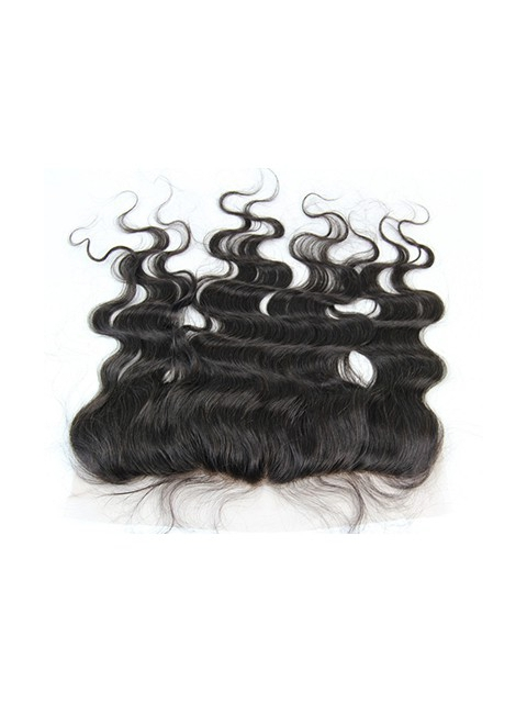 13*4 indian remy human hair body wave lace frontal-FW134