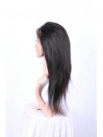 Indian remy human hair straight 360 lace frontal - FS360