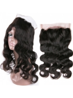 Indian remy human hair body wave 360 lace frontal - FW360