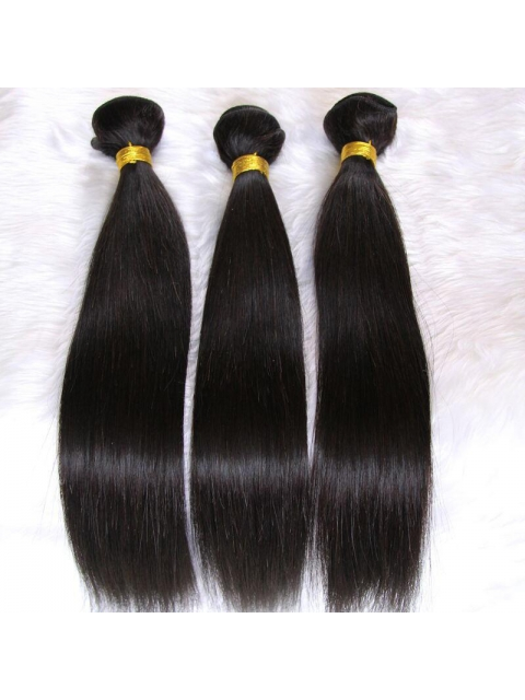 Indian remy straight weave bundle-BW002