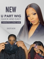 New Beginner-Friendly Effortless Installation U-part Wig-UP001