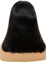 Best human hair lace wig bob to blend with your skin perfectly - WE086