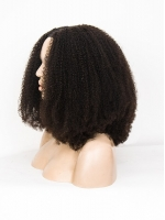 New  Coily Textured U-part Wig-UP010