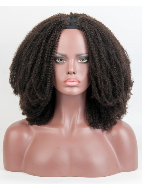 Kinky Textured U-part Wig Best Wig For Beginners-UP013