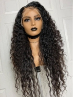 New Deep Wavy Natural Hairline Full Lace Wig-FWL001