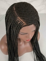 Full Lace Long Box Braided Wig-BBW001