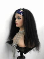 New Protective Style For Black Natural Hair-Quick Fix Elegant Headband Wig For Last Minute Problems-HW001