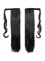 10-22 Inch Wrap Around 100% Human Hair Ponytail In Straight-WA003