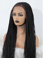 Lace Front Wig Long Box Braid Wig-BBW008