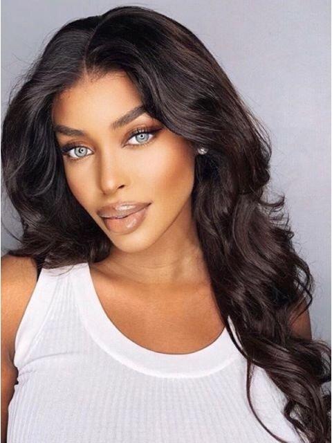 T-Part HD Lace Frontal Wigs 150% Density Virgin Hair (Body