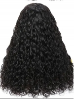 New Protective Style For Black Natural Hair-Quick Fix Elegant Water Wave Headband Wig For Last Minute Problems-HW003