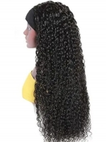 New Protective Style For Black Natural Hair-Quick Fix Elegant Spiral Curls Headband Wig For Last Minute Problems-HW004